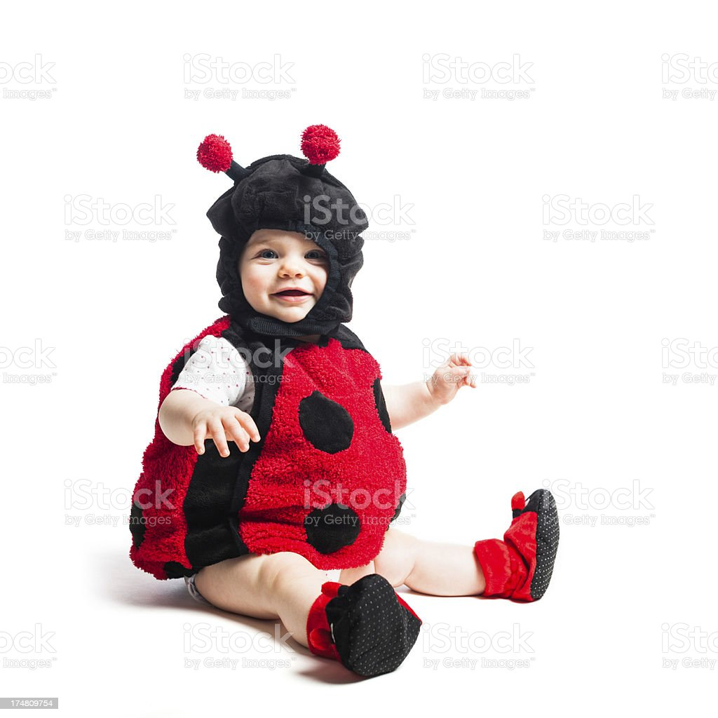 smiling baby bug royalty-free stock photo