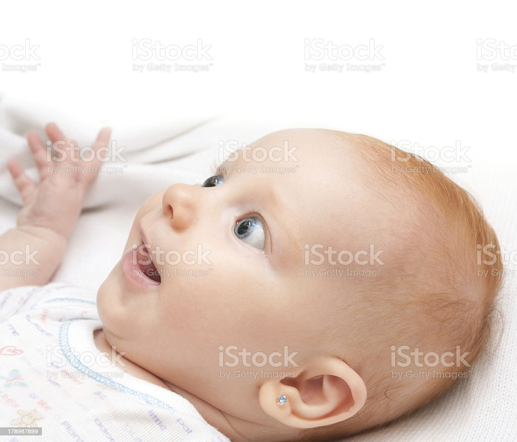 Smiling Baby royalty-free stock photo