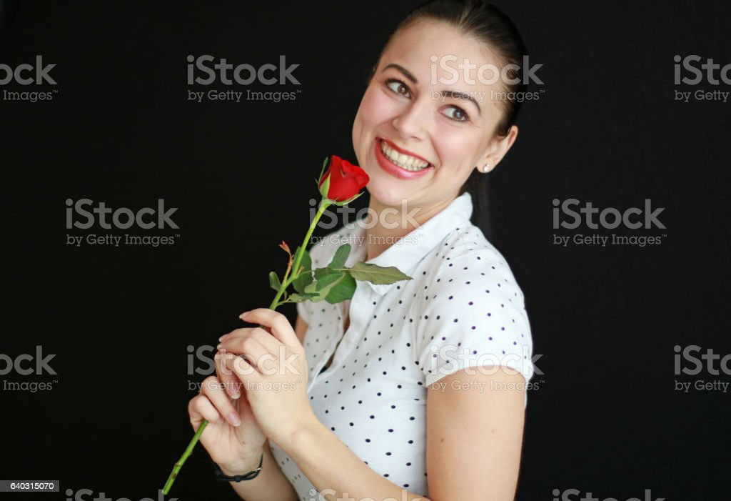 Smiling Beautifully stock photo