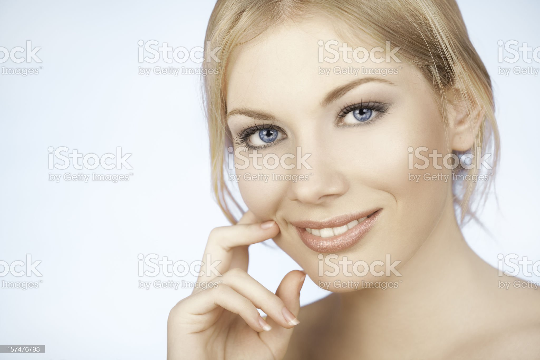 Smiling Beauty royalty-free stock photo