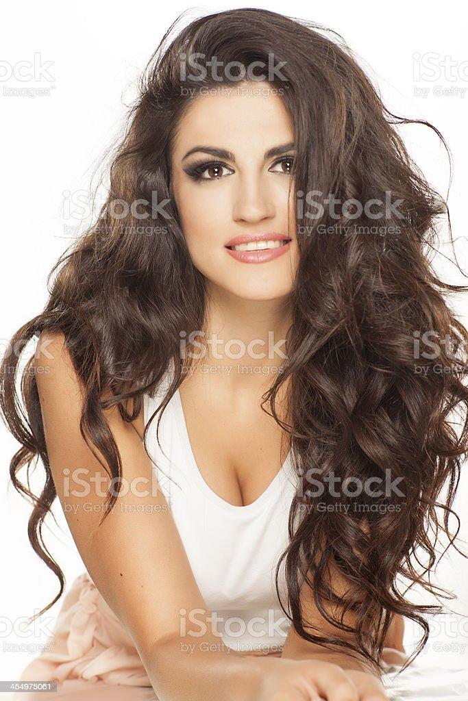 smiling beauty stock photo