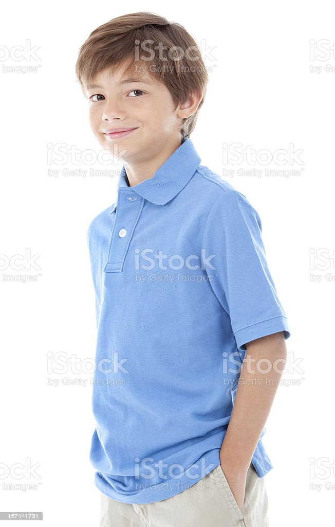 Smiling boy. royalty-free stock photo