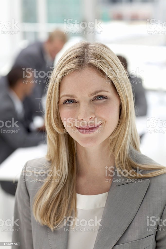 Smiling Businesswoman. royalty-free stock photo