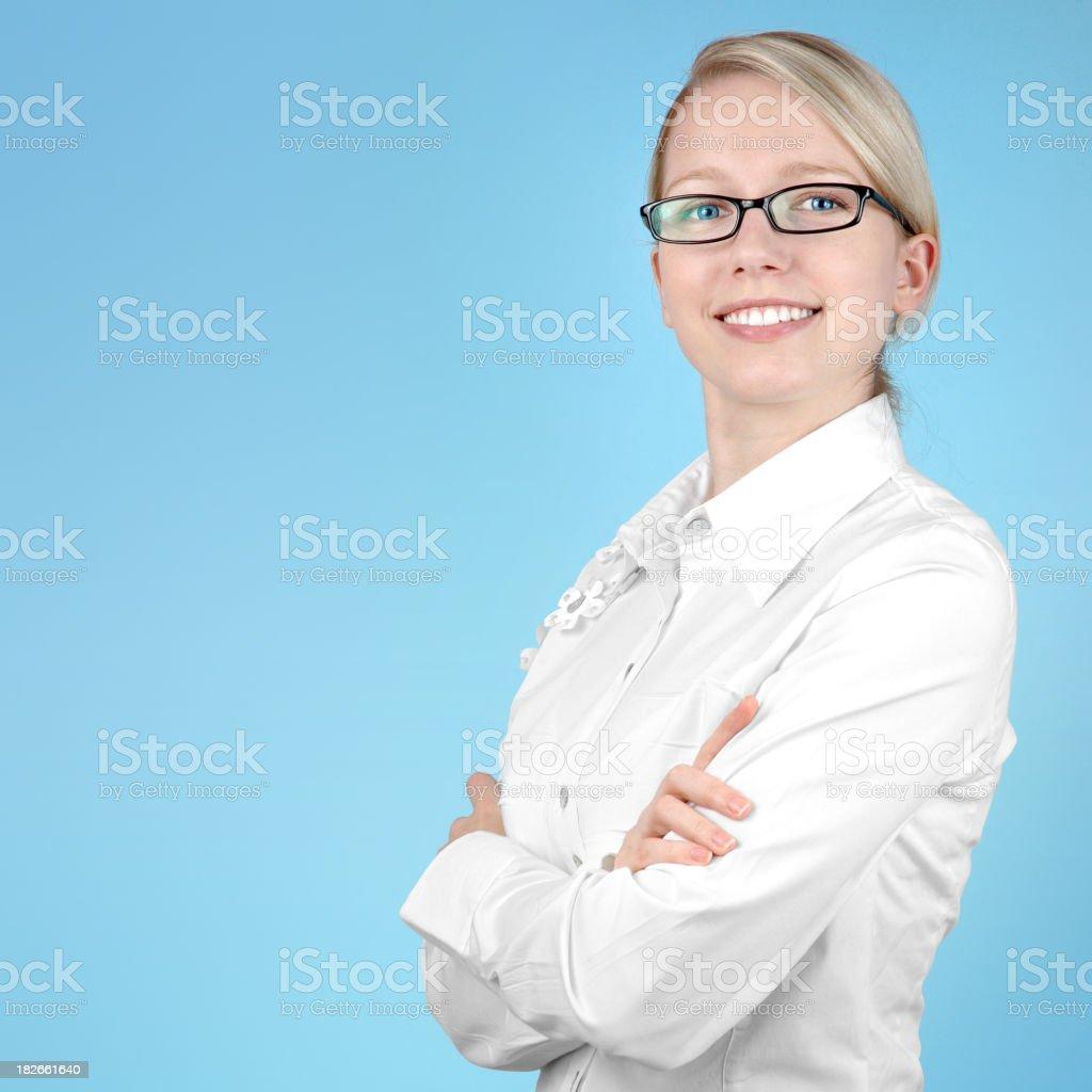 Smiling Businesswoman royalty-free stock photo
