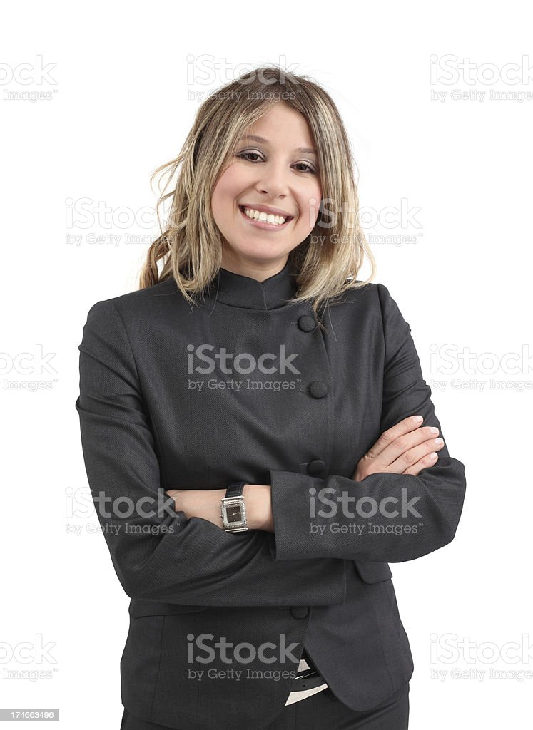 Smiling Businesswoman Portrait royalty-free stock photo