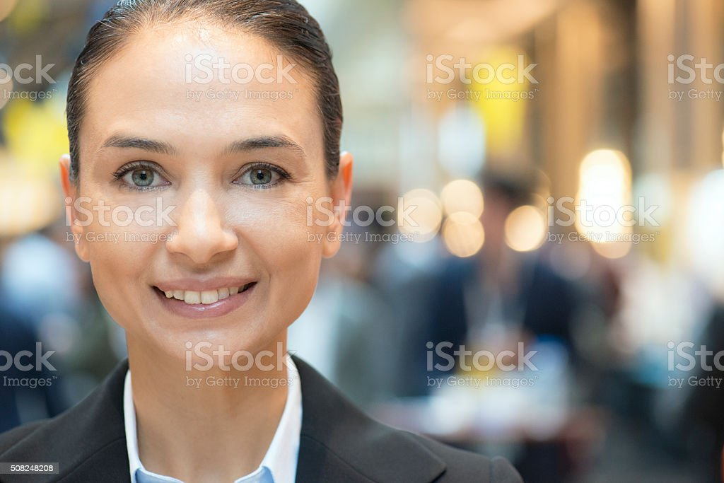 Smiling Businesswoman Portrait stock photo
