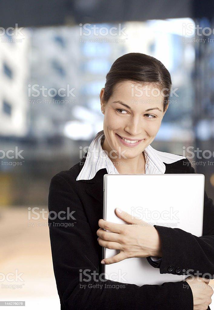 Smiling Businesswomen royalty-free stock photo