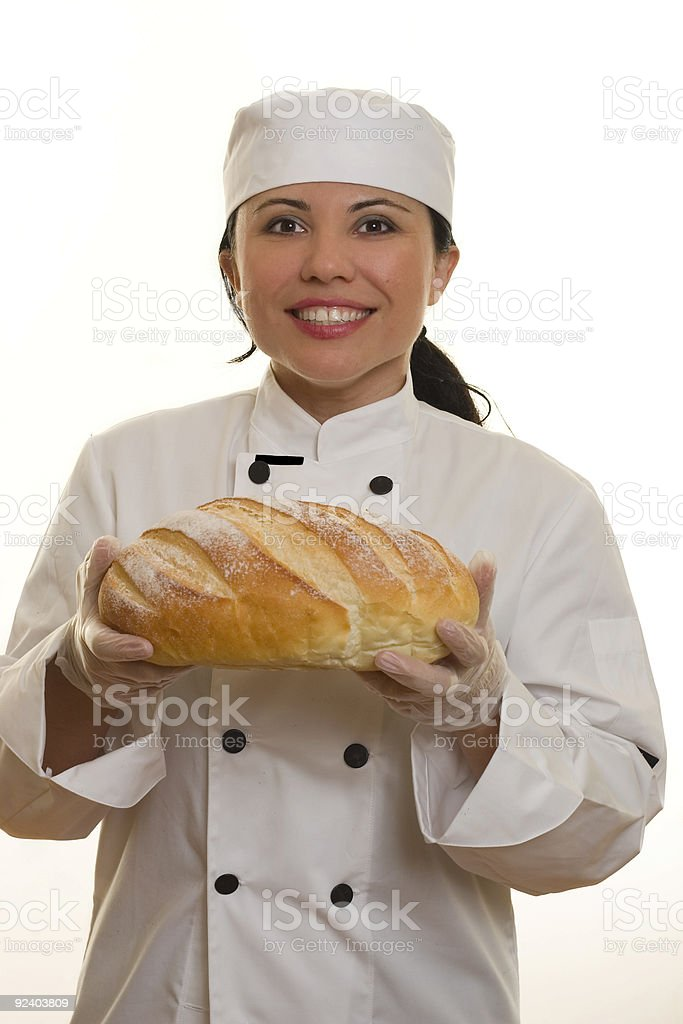 Smiling Chef royalty-free stock photo