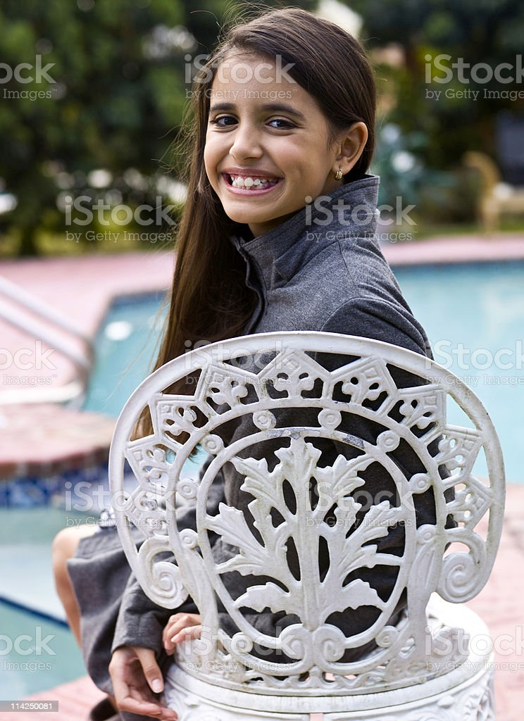 Smiling child royalty-free stock photo