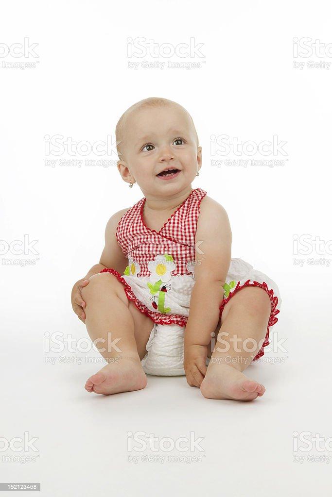 Smiling child royalty-free stock photo