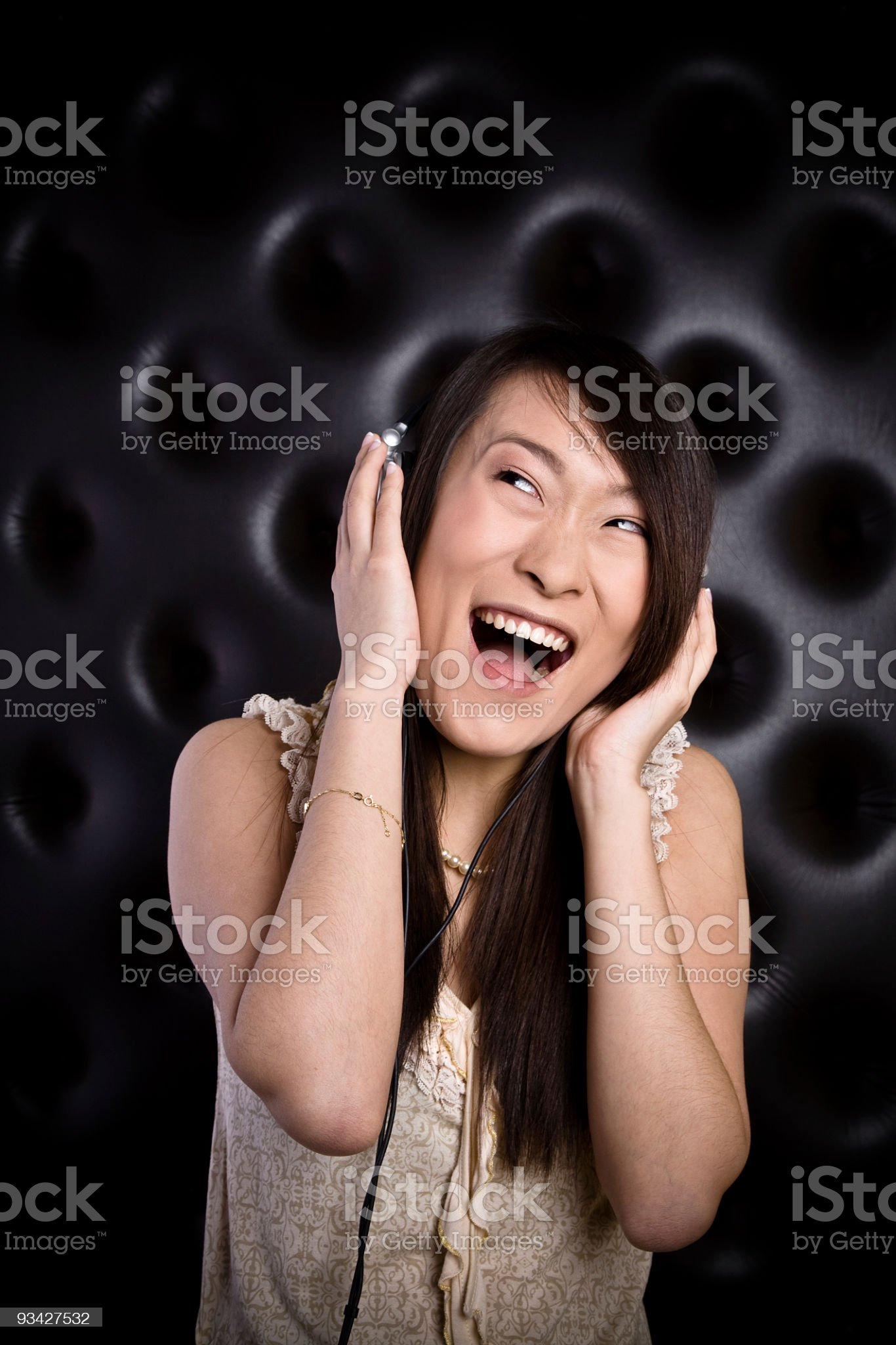 smiling chinese beauty royalty-free stock photo