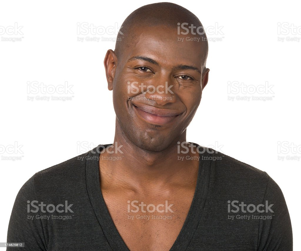 Smiling Confident Young Man royalty-free stock photo