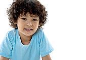 Smiling cute little boy