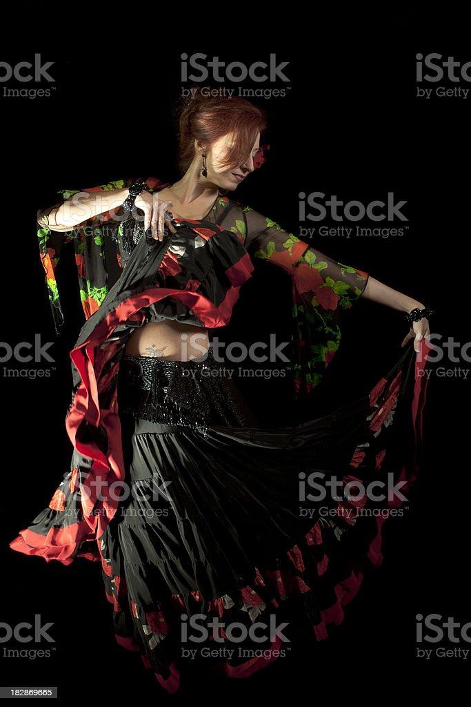 Smiling Dancer royalty-free stock photo
