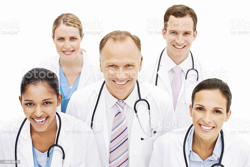 Smiling Doctors royalty-free stock photo