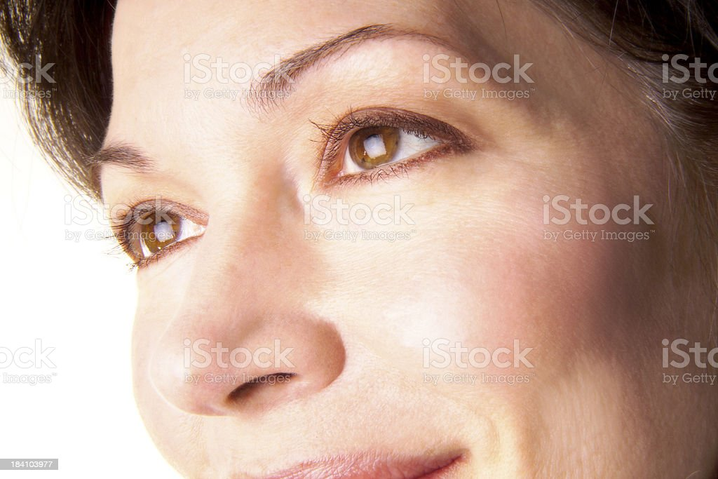 smiling eyes royalty-free stock photo
