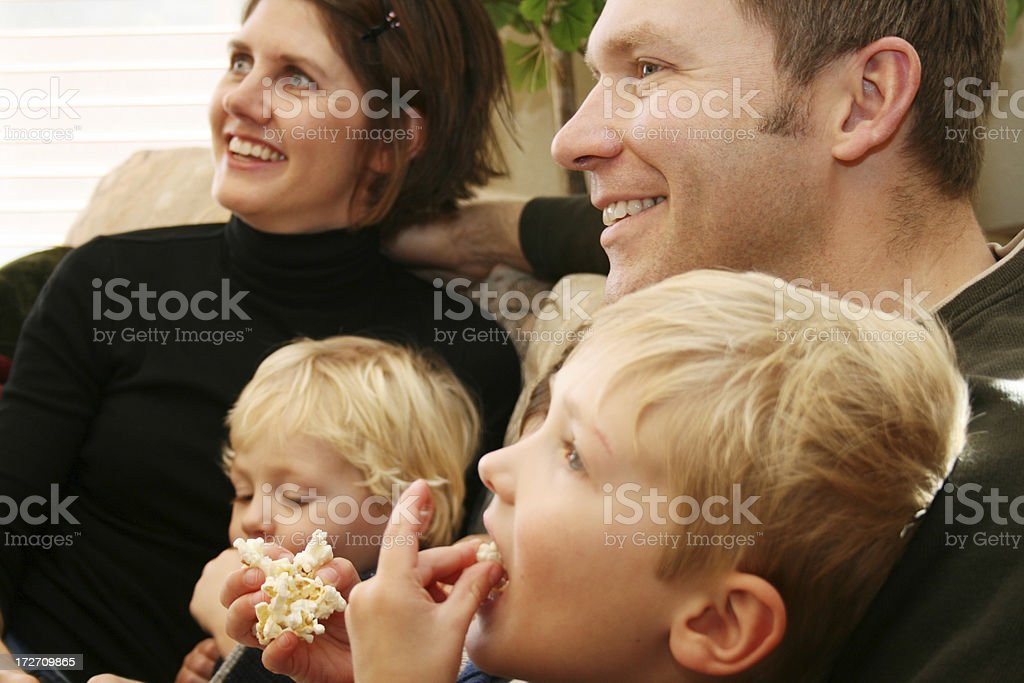 Smiling Family royalty-free stock photo
