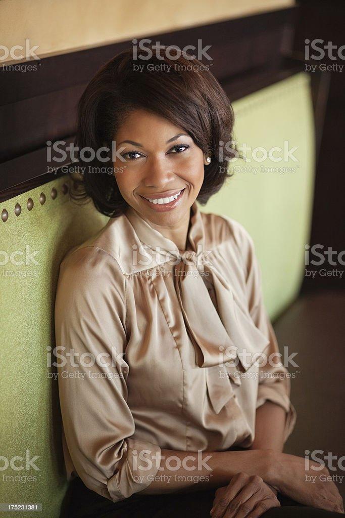 Smiling Female Executive royalty-free stock photo
