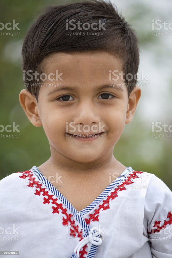 Smiling Indian Child royalty-free stock photo