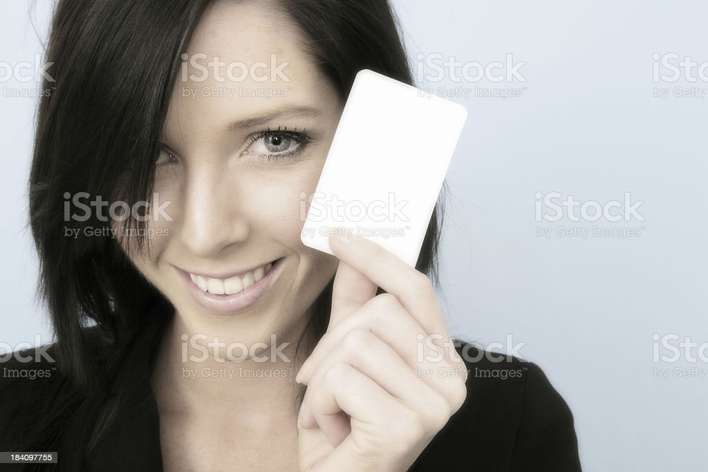 Smiling Introduction royalty-free stock photo