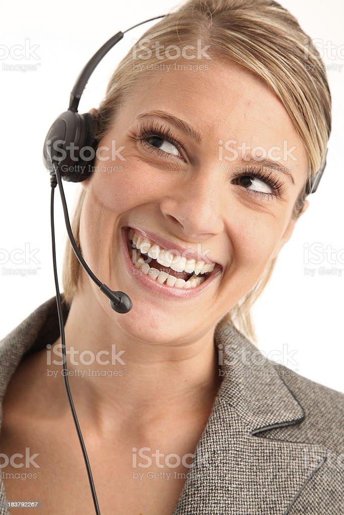Sonriendo es especialista foto de stock libre de derechos