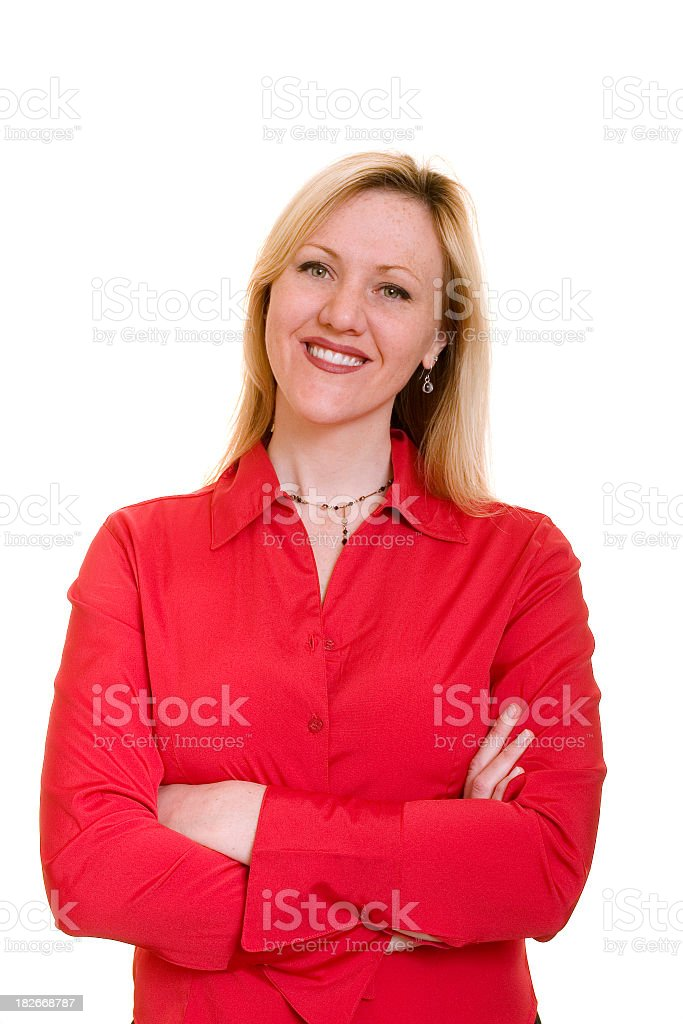 Smiling Lady royalty-free stock photo