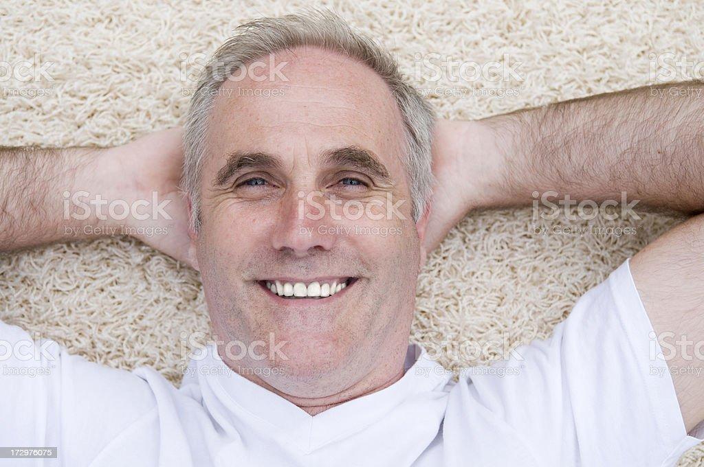 smiling man close up royalty-free stock photo