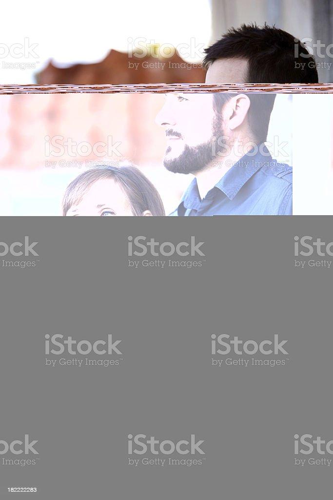 smiling man close up stock photo