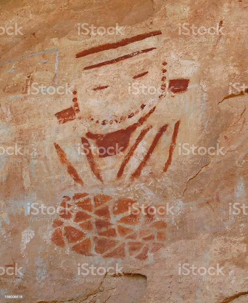 Smiling Man from Four Faces Panel royalty-free stock photo