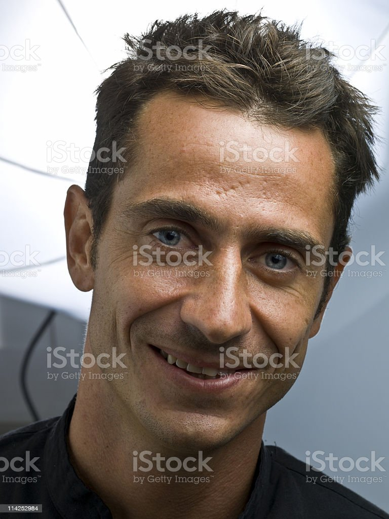 Smiling man royalty-free stock photo