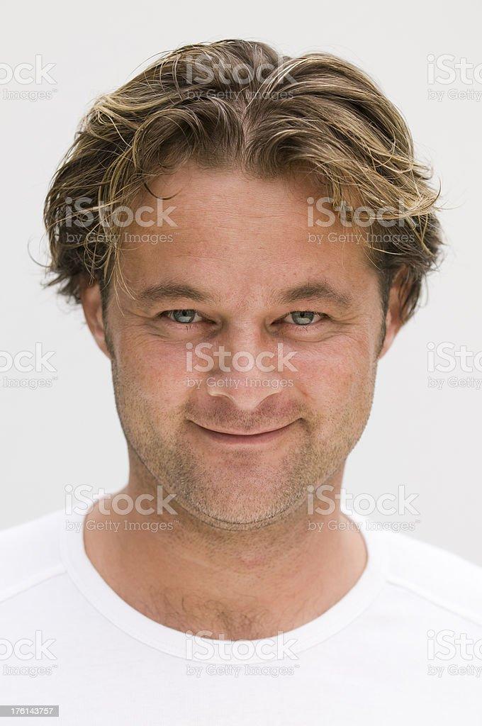 smiling man royalty-free stock photo