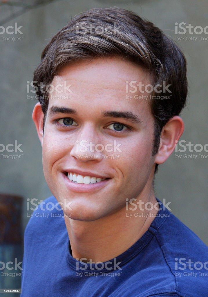 Homme souriant photo libre de droits