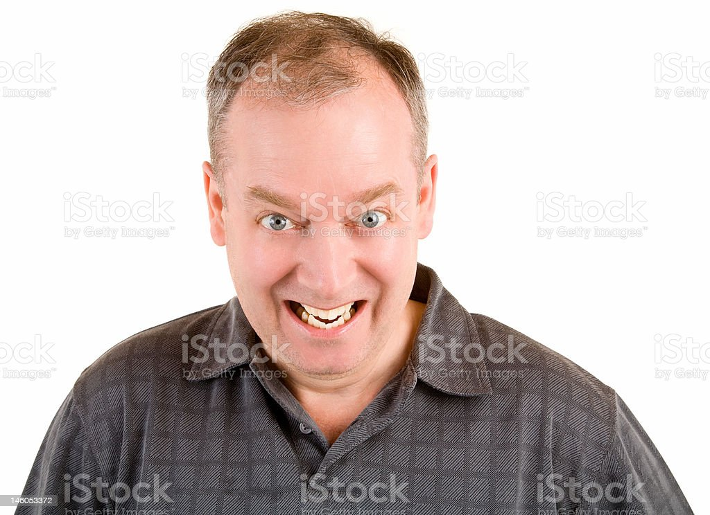 Smiling Middle Aged Man royalty-free stock photo