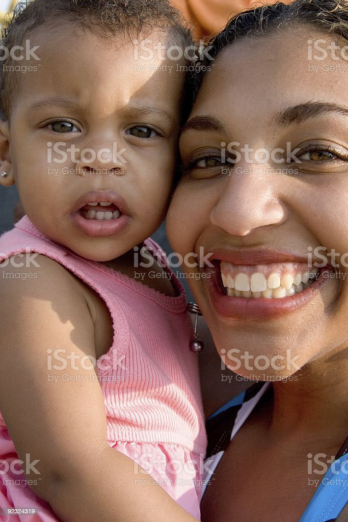 Smiling Mother stock photo