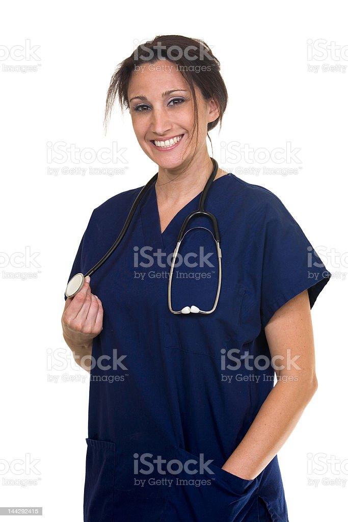 Smiling nurse royalty-free stock photo