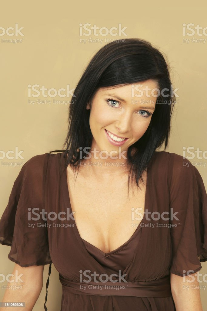 Smiling royalty-free stock photo