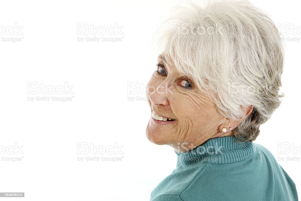 Smiling stock photo