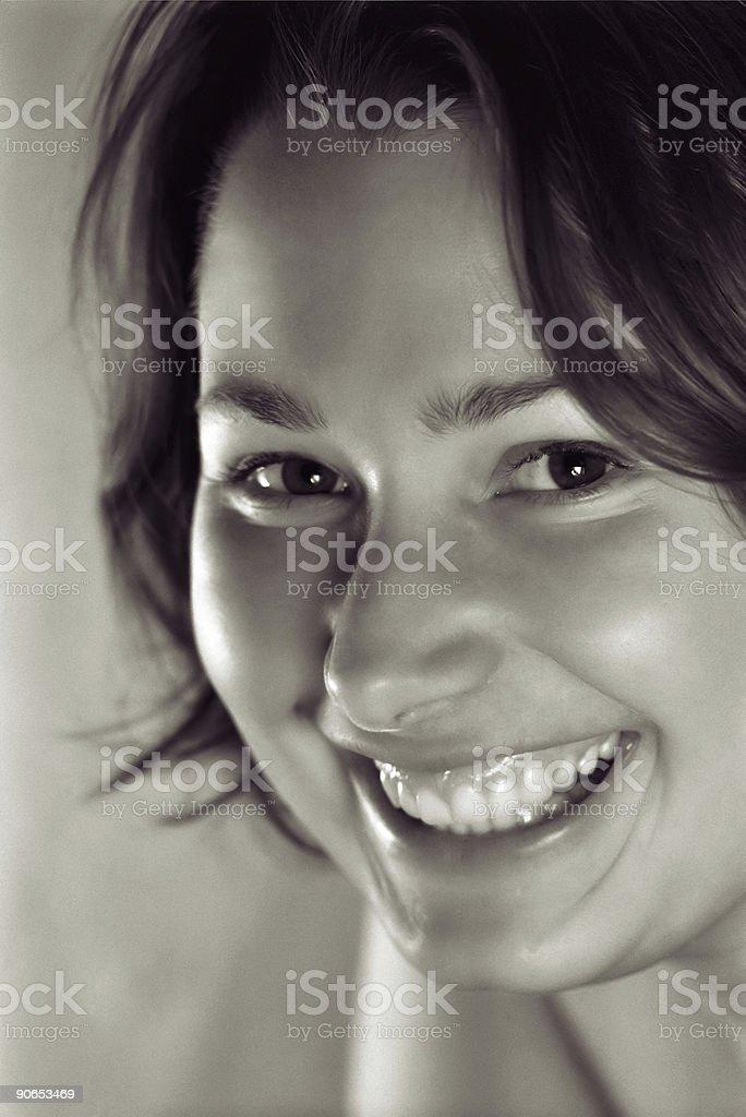 Smiling royalty-free stock photo