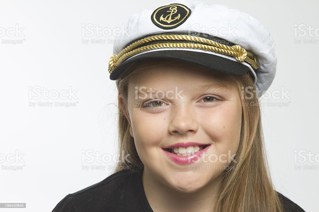 Smiling Sailor stock photo
