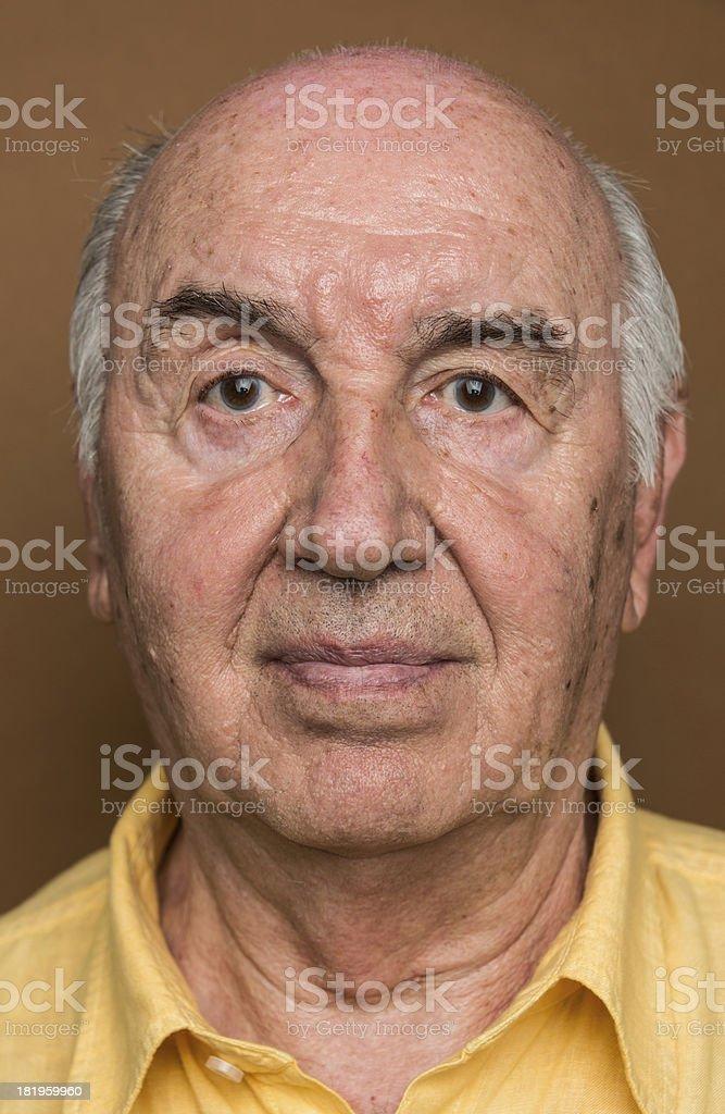 Smiling Senior royalty-free stock photo