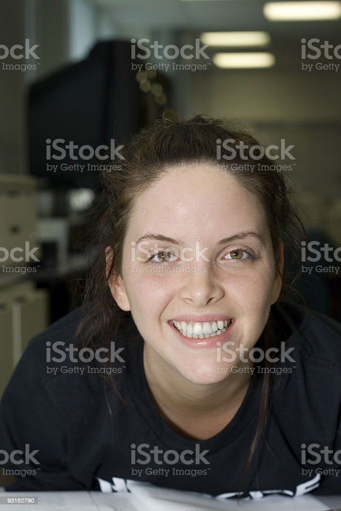 Smiling Student royalty-free stock photo