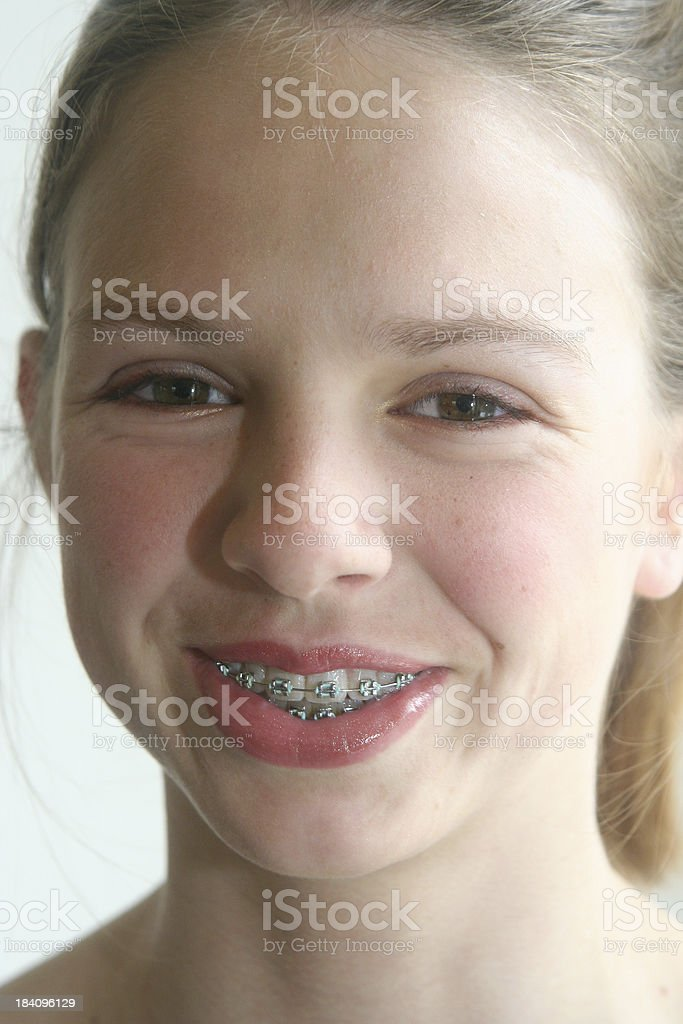 Smiling Teen royalty-free stock photo