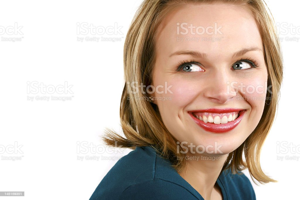 Smiling the Day Away royalty-free stock photo