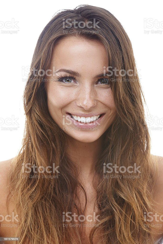 Smiling wide! royalty-free stock photo