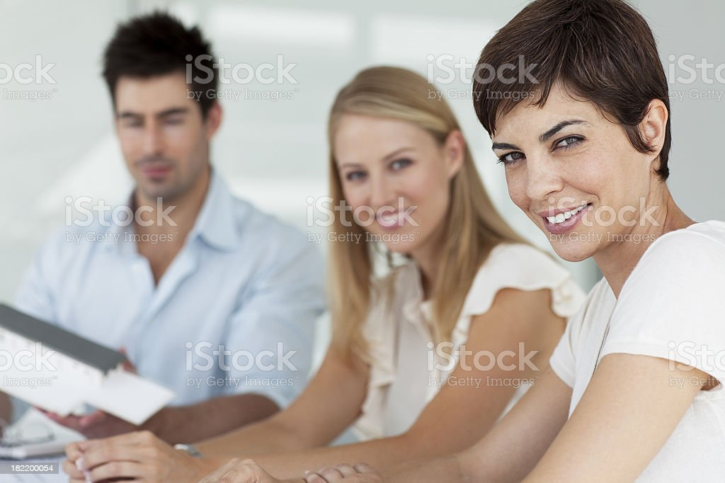 Smiling Young Architect. royalty-free stock photo