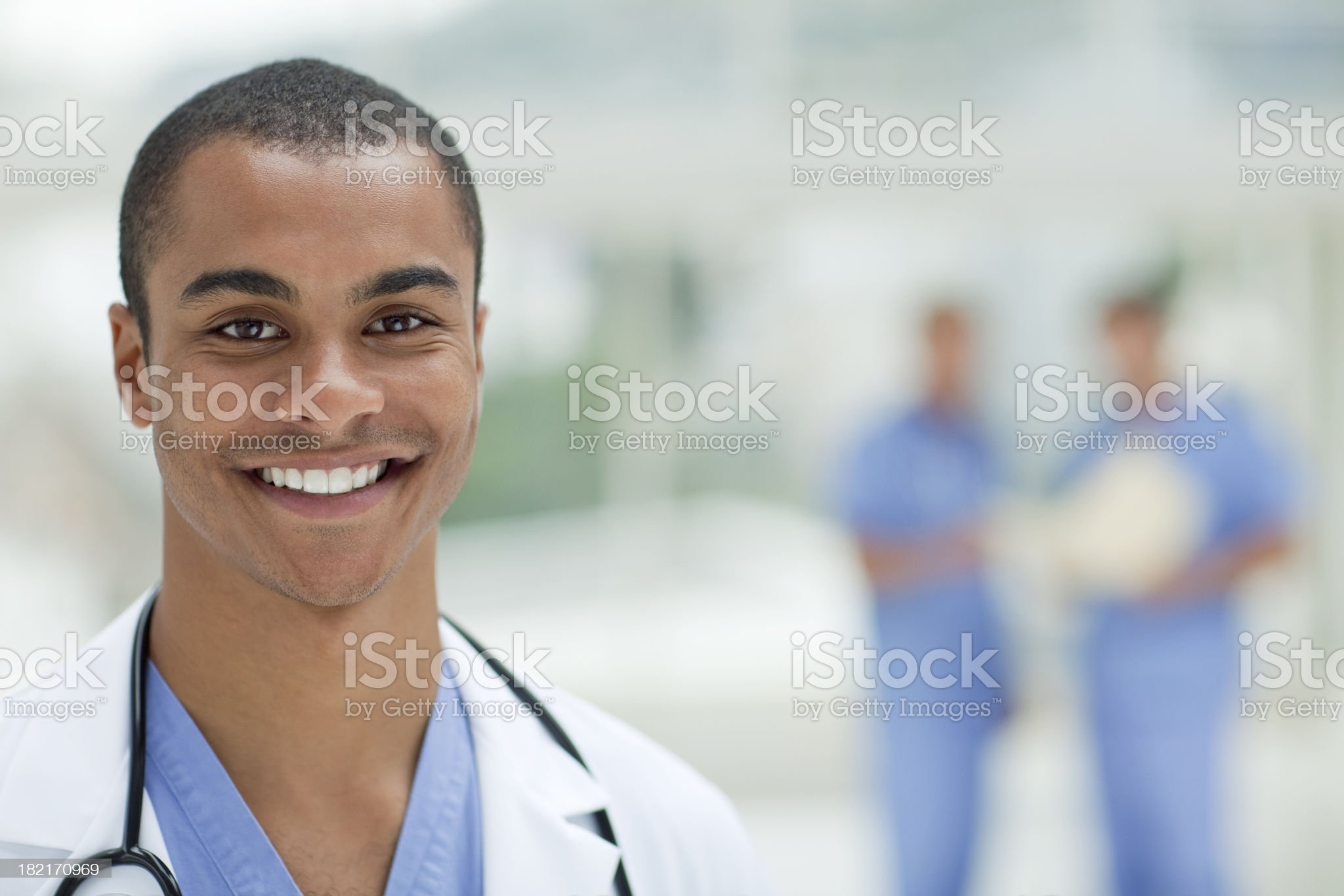 Smiling Young Doctor royalty-free stock photo