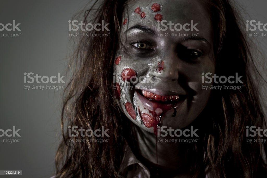 Smiling Zombie royalty-free stock photo