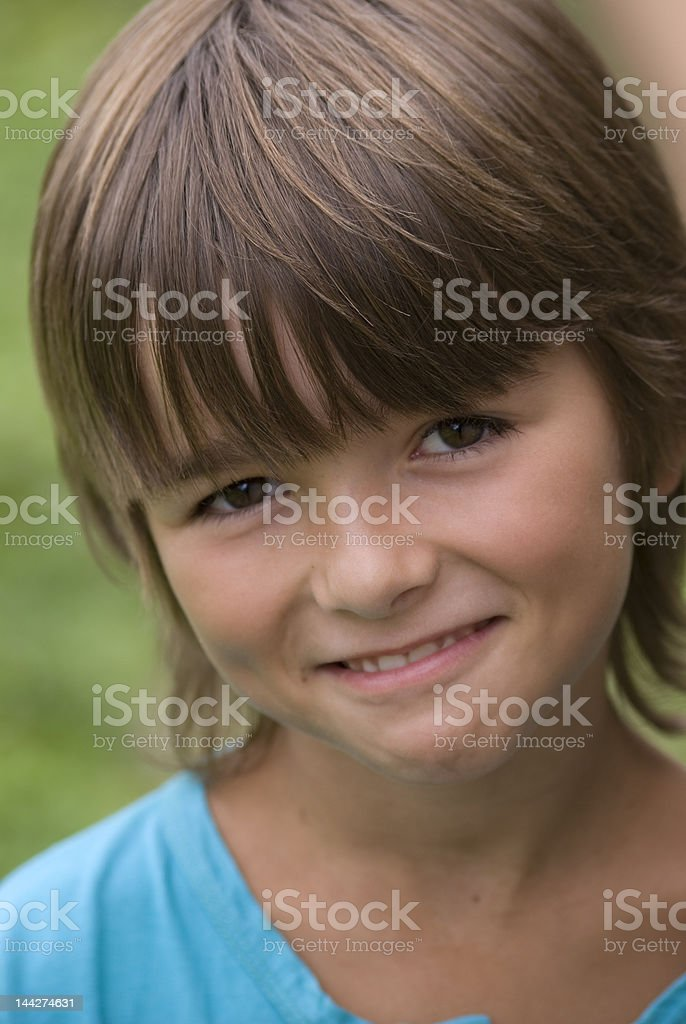 smilyng boy royalty-free stock photo