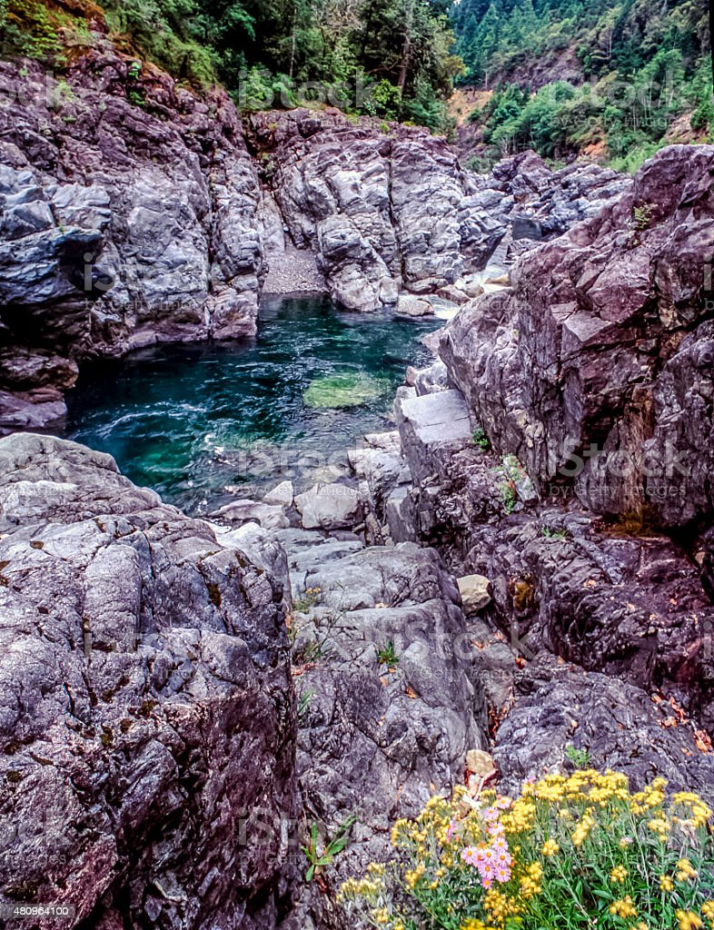 Smith River National Recreation Area stock photo