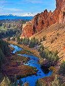 Smith Rock Park, Central Oregon